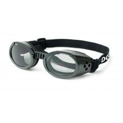 Doggles occhiali solari nero metallizzato