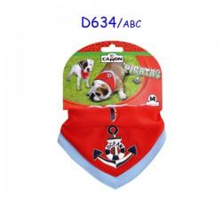 Bandana con collare Ocean Red Camon (D634/A)