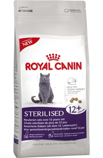Royal Canin Health Sterilised 12+