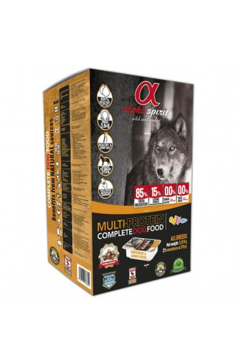 Alpha Spirit Dog Multi Protein