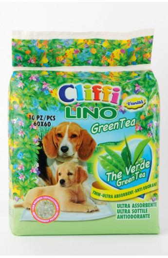 Tappetino assorbente Cliffi Lino Green Tea