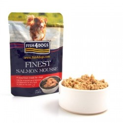 Fish4Dogs Finest Mousse Salmon