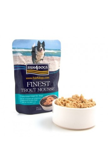 Fish4Dogs Finest Mousse Trota