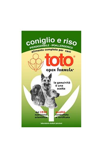 Toto Open Formula -Coniglio e riso