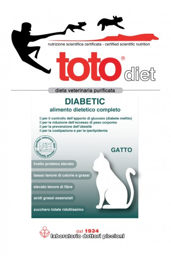 Toto Diet Diabetic gatto