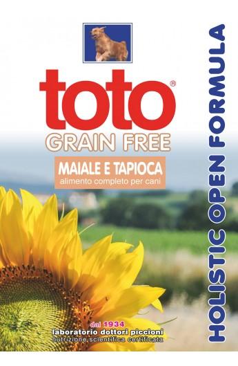 Toto Holistic Grain Free- Maiale e Tapioca