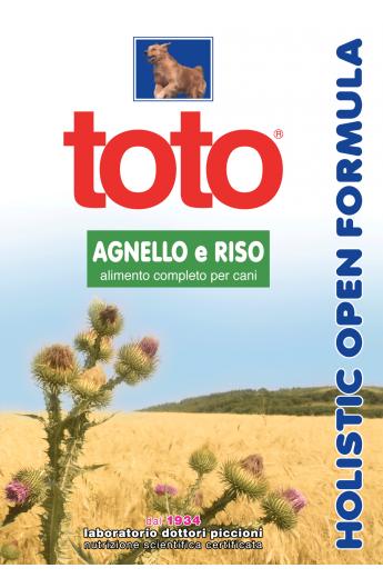 Toto Holistic - Agnello e Riso
