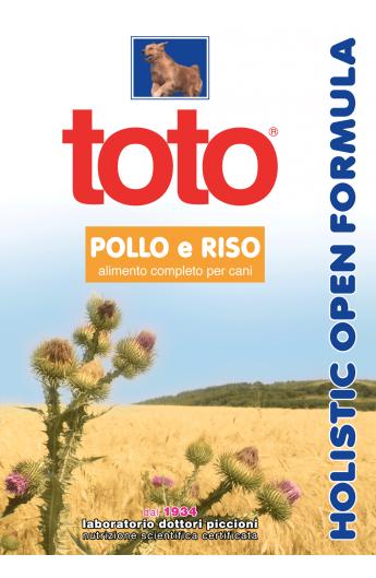 Toto Holistic - Pollo e Riso