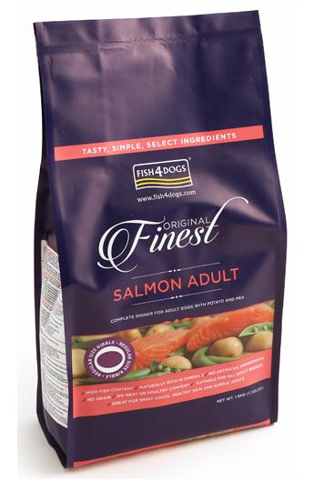 Fish4Dogs Adult Complete Salmon (scadenza settembre 2019)