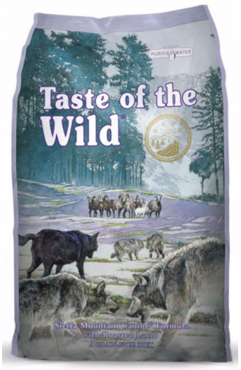 Taste of the Wild - Sierra Mountain Canine Formula