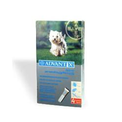 Advantix - Antiparassitario Spot-On per Cani da 4 Kg a 10 Kg