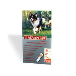 Advantix - Antiparassitario Spot-On per Cani da 10 Kg a 25 Kg