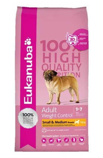 Eukanuba Adult Weight Control Tg. Piccola e Media