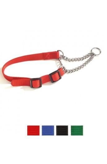 Collare Nylon semi-strangolo regolabile (F071/01)