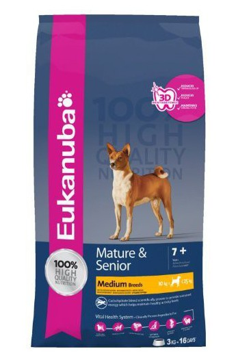Eukanuba Mature & Senior Tg. Media