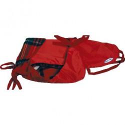 Impermeabile foderato Fuss-Fuss (ABF 25/33) rosso