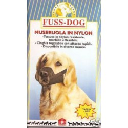 Museruola in nylon Fuss-Dog (CGM801)