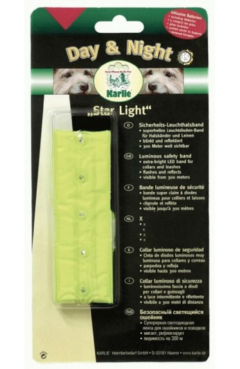 Copri collare Star Light riflettente Karlie (64030)