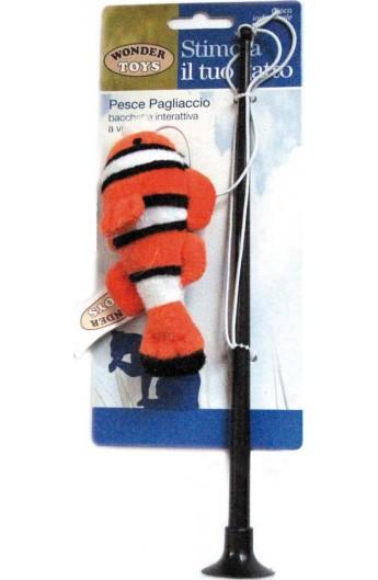 Pesce Pagliaccio bacchetta interattiva a ventosa Wonder Toys