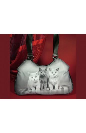 Borsetta da donna con gattini (Smile-Bags 38113)