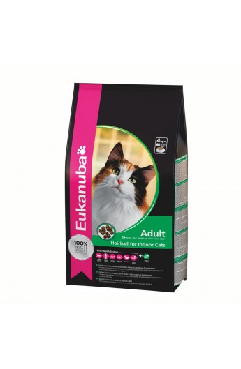 Eukanuba gatto Secco Adult Hairball