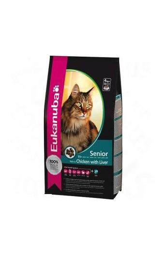 Eukanuba gatto Secco Senior