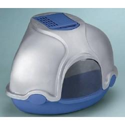Cassetta igienica coperta Ginger (Imac) grigio-blu