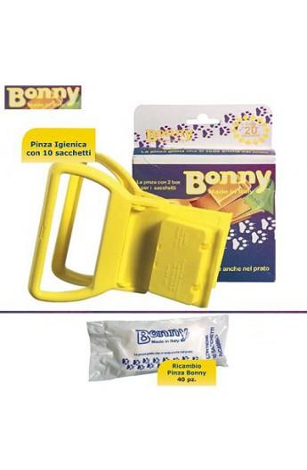 Pinza igienica Bonny con 20 sacchetti (Z730)