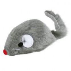 Topolino pelo grigio con campanello Trixie (TX4056)