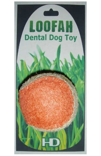 Dental Toy Loofah palla media